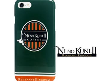 NI NO KUNI 2  iPhone Case_ Cafe Style