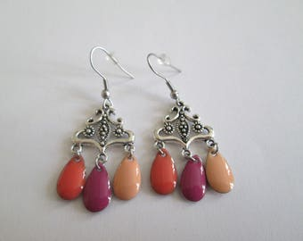 FUCHSIA EARRINGS