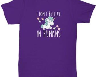 Unicorn Tshirt. Unicorns are real, are you? Cute gift, funny gift. Sweet tee shirt.