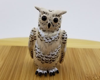 Great Horned Owl Figure