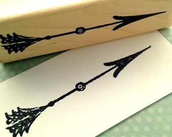 Arrow Rubber Stamp 6417