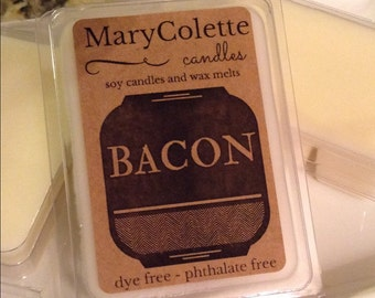 Bacon Scented Soy Wax Melt | Bacon Wax Melt | Bacon Candle | Eco Friendly Soy Wax Melt | Bacon Scent |  Bacon Gift