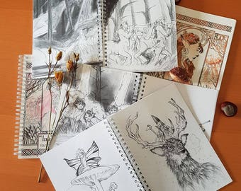 In the forest - Artbook