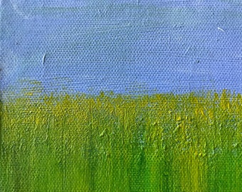 Wheat Fields with Mustard