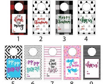 Wine Gift Tags | 4 for 10