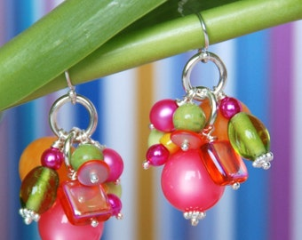 Mad Hatter's Tea Party MAD HAT Earrings Inspired by Alice in Wonderland
