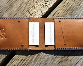 Minimalist Wallet, Mens Wallet, Leather Wallet, Bifold Wallet, Slim Wallet, Credit Card Wallet,Handmade Wallet,Birthday Gift
