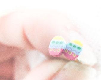 Easter Eggs Earrings, Cute Eggs Studs, Easter Jewelry, Easter Earrings, Sweet Girly Easter Stud Earrings