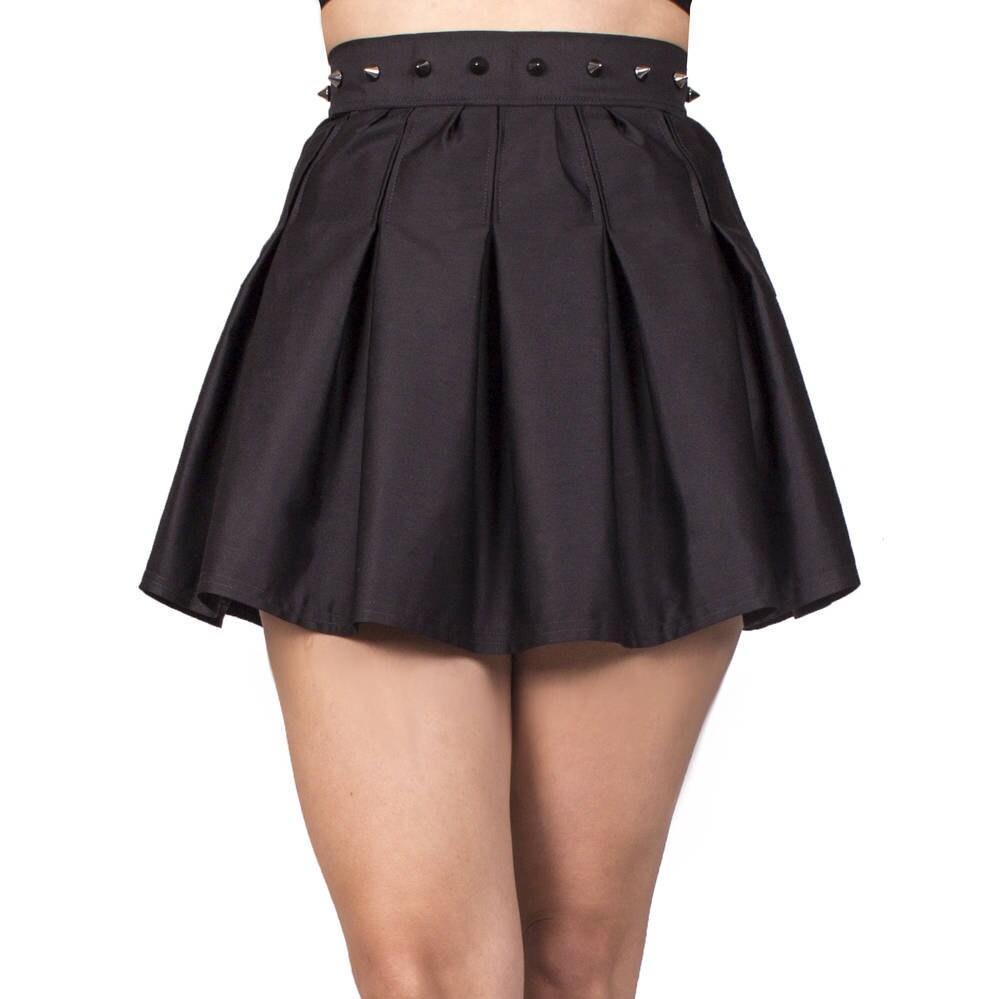 Black Skater Skirt Skater Skirt for Girl Skater Skirt Black