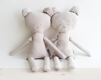 Two bear toys for kids. Together cheaper!