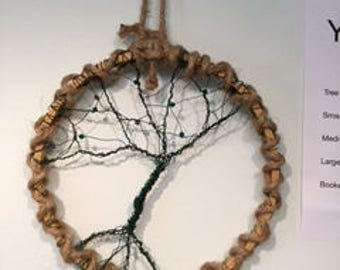 Tree of Life, Wire and Beads