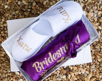 Bridesmaid Gift, Bridesmaid Robes Set, Bridal Party Gift, Bridesmaid Robe, Maid of Honor Robe, Bridal Party Robes, Bridesmaid Proposal