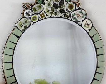 Wall Mirror, Mosaic Wall Mirror, Mosaic