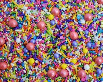 Edible Sprinkles - Lisa Frank-icorn