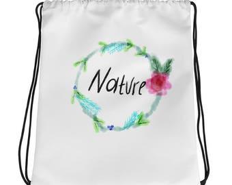 Nature Drawstring bag