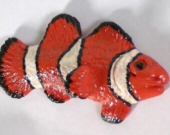 Clownfish Polymer Clay Fridge Magnet