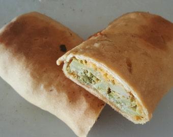 Broccoli Sausage Cheese Stuffed Bread Homemade
