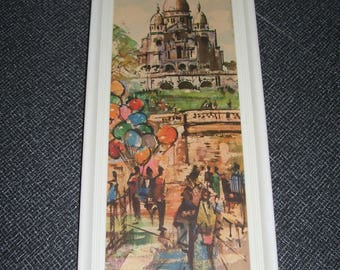 Balloon Art Balloon Print Europe Street Scene Print Vintage