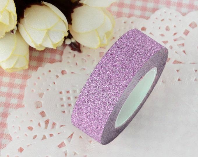 Pink Glitter Washi Tape