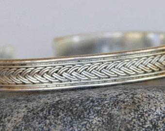trendy silver men ring