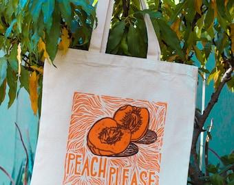 Peach Please Tote