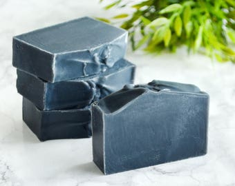 Activated Charcoal Soap - Vegan Acne Face Wash Soap For Men