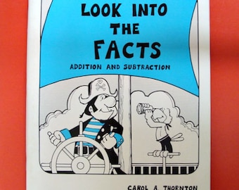 1977 Look Into The Facts ADDITION AND SUBTRACTION ~ Creative Publications Inc ~ Elementary ~ Primary ~ Arithmetic