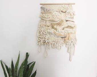 """Woven wall hanging / Tapestry / Hand Woven """"Mazunte"""""""