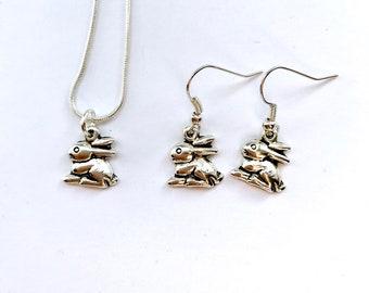 Bunny Jewellery, Rabbit Jewellery, Easter Jewellery, Bunny Necklace, Rabbit Necklace, Easter Necklace, Easter Gift, Birthday Gift