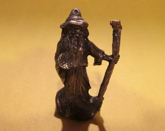 Pewter Wizard Figurine