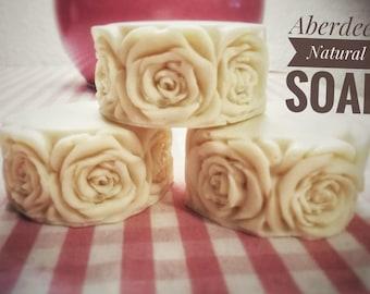 Natural olive oil Soap for events-Pack 2 units-100 UDs