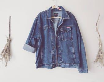 Oversized 90s Denim Jacket