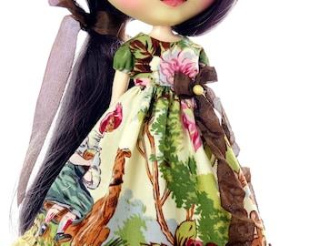 Blythe clothes, Blythe, Blythe dress, Blythe antique, Blythe Victorian, Blythe gown,  Blythe Boho, Pullip dress. TheDollsDresser