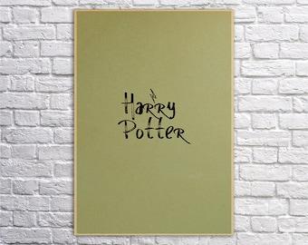 Harry Potter, Hogwarts, Harry Potter gift, Harry Potter decor, Wizard, Harry Potter print, Harry Potter poster,Hogwarts express,Always,Magic