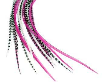 Real Feather Hair Extensions : Princess