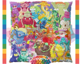 Kawaii Universe - Cute Amazing Animals A to Z  Designer Meditation / Floor Pillow