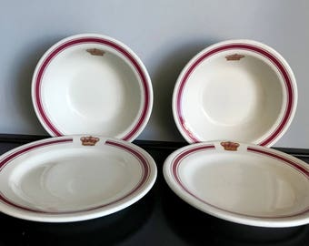 Vintage Hotel Del Coronado (Prince of Wales) Hotelware - Only 1 Bowl and 1 Bread Plate Left!!