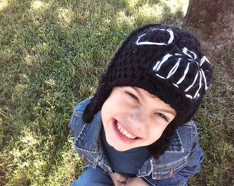 star wars inspired crochet hat, gift for star wars fan, Darth Vader Crochet Hat, halloween hat, darth vader fan gift, star wars hat,