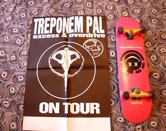 90s Tour original TREPONEM PAL concert poster