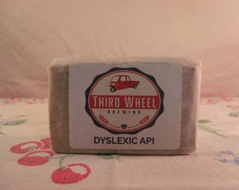 Third Wheel Brewing Dyslexic API Bar Soap