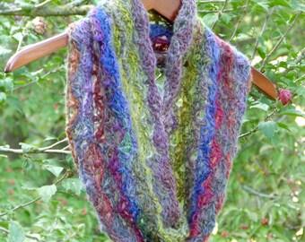 Wildflower Cowl - PDF Crochet Pattern - Instant Download
