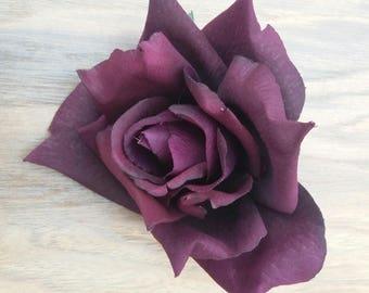 Plum Rose - wedding - millinery - home decor