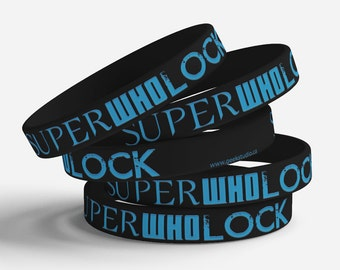 SuperWhoLock jelly bracelet