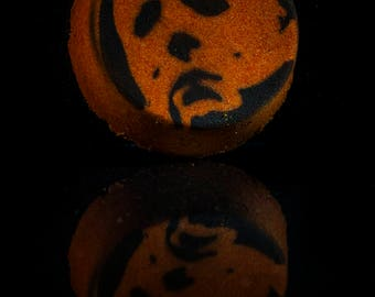 The Night He Came Home...Vanilla Pumpkin Pie Scented Horror Bath Bomb!