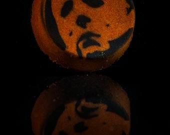 The Night He Came Home...Vanilla Pumpkin Pie Scented Horror Bath Bomb!