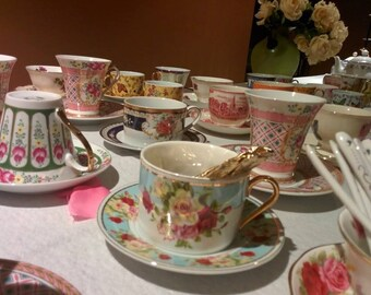 Queen Anne Tea Party Rental Package