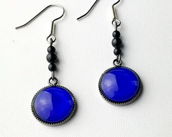 Mood earrings, mood jewelry for adults, color changing earrings