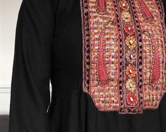 vintage. 1970's indian cotton dress