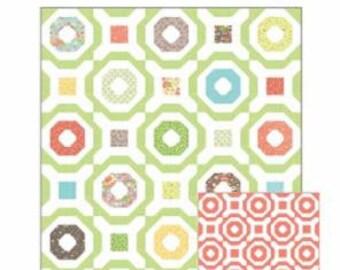 Wheelhouse Quilt Pattern by Coriander Quilts featuring Lulu Lane Fabrics by Corey Yoder for Moda Fabrics. CQ116
