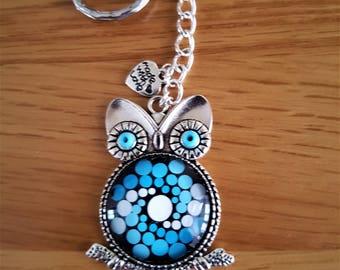 Owl Keyring or Bag Charm